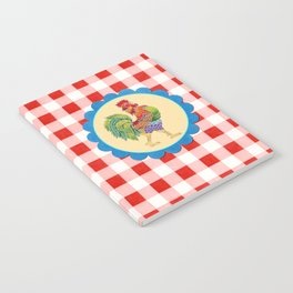 Rise and Shine Rooster Notebook