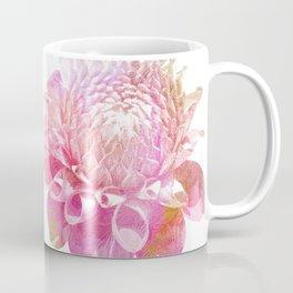 Etching Style Series Modern Vintage Dahlia vol.3 Coffee Mug