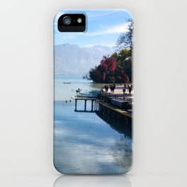 Lake Annecy iPhone Case