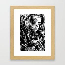 RZP Girl Framed Art Print