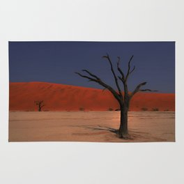 Haunting Deadvlei Namibia Africa Rug