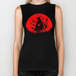 Red Moon Itachi Biker Tank