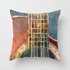 Ovation Accoustic Guitar  Throw Pillow