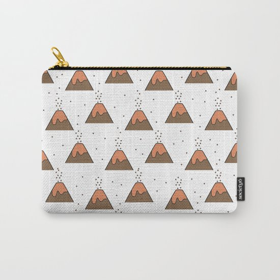 Volcano Pattern #1 Carry-All Pouch
