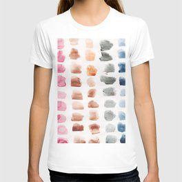 16   | Abstract Patterns Watercolor Painting | 200615 T-shirt