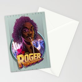 Roger troutman Stationery Cards