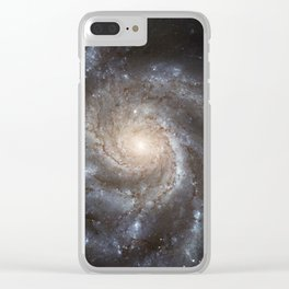 Pin wheel Galaxy Clear iPhone Case