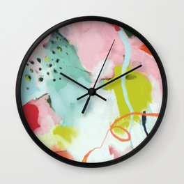 landscape in spring Wall Clock