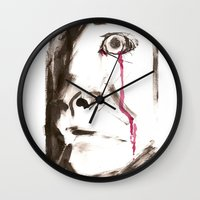 kill la kill Wall Clocks featuring kill by cistus skamberji