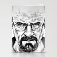 walter white Stationery Cards featuring Walter White by 13 Styx