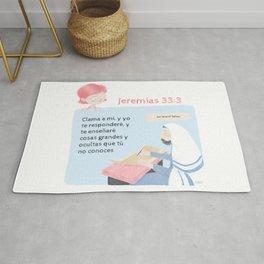 """Jeremías 33:3 """"Clama a mí"""" Rug"""