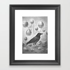 FRAGILE 2# Framed Art Print