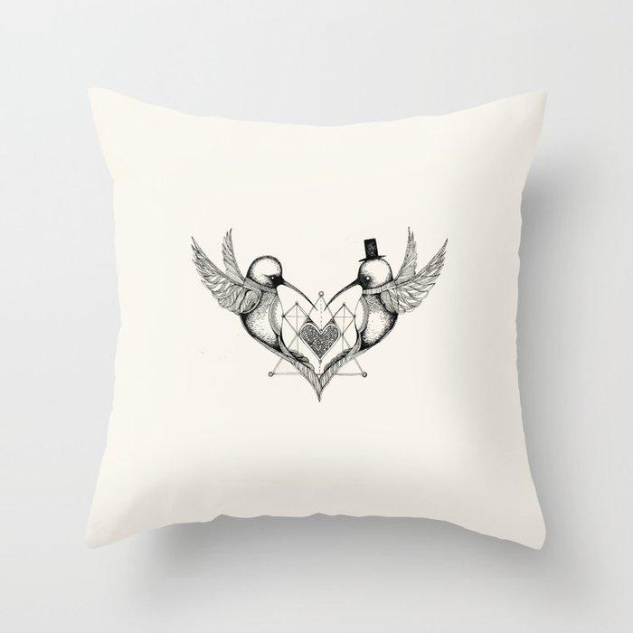 'Valentine's Day' Throw Pillow