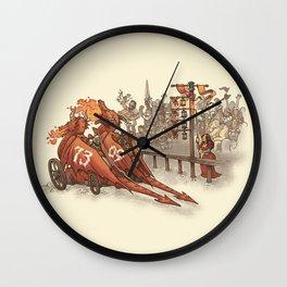 Drag Racers Wall Clock