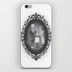 Framed family portrait iPhone & iPod Skin