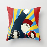 rushmore Throw Pillows featuring Rushmore by Bill Pyle