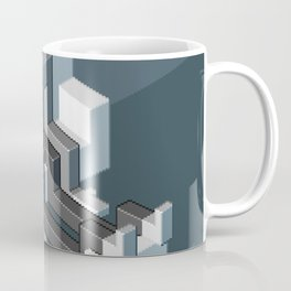 Couch slouch pixel artwork Coffee Mug