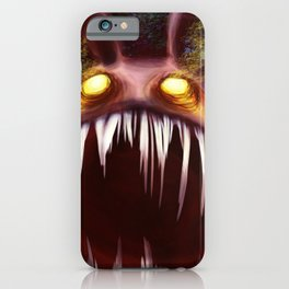 Sharp Pointy Teeth  iPhone Case