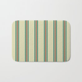Retro Straight Stripe Bath Mat
