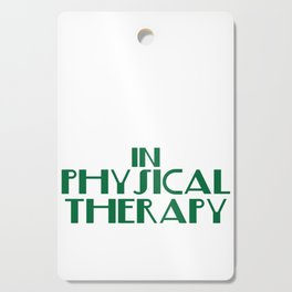 """""""There's No Crying in Physical Therapy"""" tee design. Fight your fear and stay inspired with this tee! Cutting Board"""