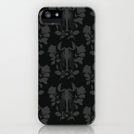 Black locust scorpion iPhone Case
