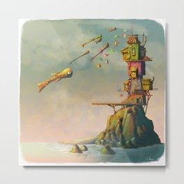 Island of nowhere Metal Print