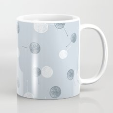 Smal blue leaves Mug