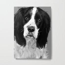 A Loyal Dog Metal Print