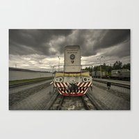 soviet Canvas Prints featuring Soviet Diesel  by Rob Hawkins Photography
