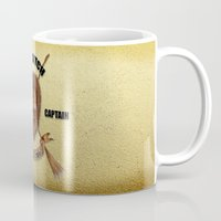 quidditch Mugs featuring Gryffindor Quidditch Team Captain by JanaProject