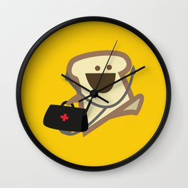 Dr Toast, On Call Wall Clock