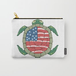 Like a turtle - Strong & Free Carry-All Pouch