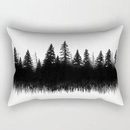 Winter Woods Rectangular Pillow