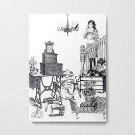 HOUSEWORK Metal Print