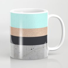 Abstract Turquoise Pattern Mug