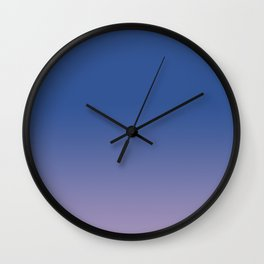 All Over Color, Faded Color Wall Clock