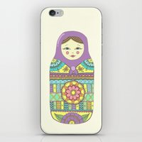 russian iPhone & iPod Skins featuring Russian Doll by haleyivers
