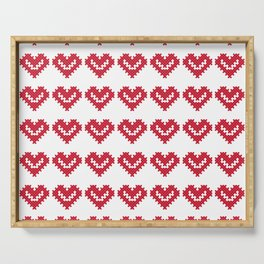 VALENTINE CROSSES Serving Tray