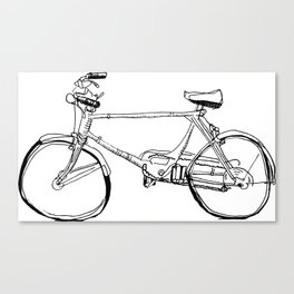 Cruiser Bicycle Canvas Print