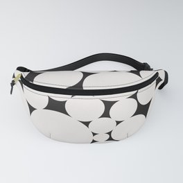 Circular Collage - Black & White II Fanny Pack