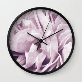 Light Purple Dream #1 #rose #floral #decor #art #society6 Wall Clock