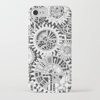 steampunk iPhone & iPod Cases featuring Steampunk by Squidoodle