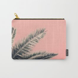 Retro Style Palm Tree Carry-All Pouch