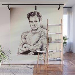Young Marlon Brando Wall Mural