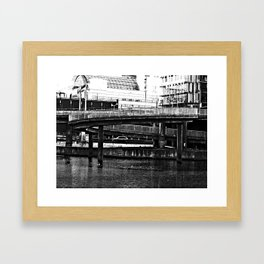 Bridge Stockholm city Framed Art Print