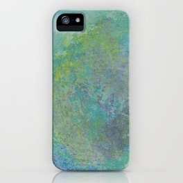 abstract in tie dye colors iPhone Case