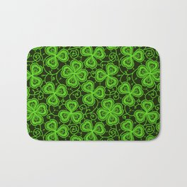Clover Lace Pattern Bath Mat
