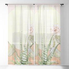 Desert Days Sheer Curtain