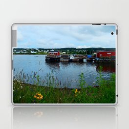 Fisherman's Wharf in Cape Breton Laptop & iPad Skin