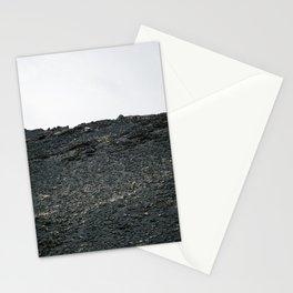 Black rocks of Iceland Stationery Cards